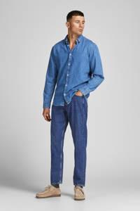 JACK & JONES JEANS INTELLIGENCE loose fit jeans JJICHRIS JJORIGINAL blue denim, Blue denim
