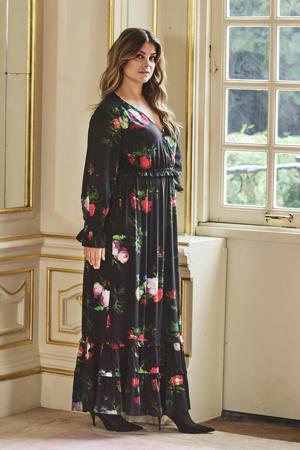 limited edition maxi jurk  met bloemenprint