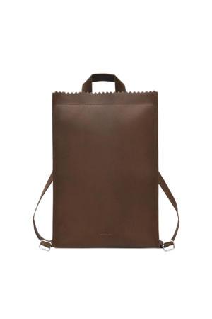 leren rugzak My Paper Bag bruin