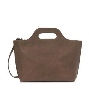 leren handtas My Carry Bag bruin
