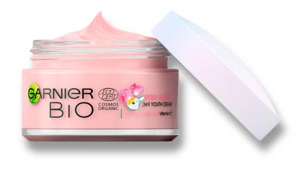 Garnier Skinactive Bio 3-in-1 Rosy Glow dagcrème - 50 ml