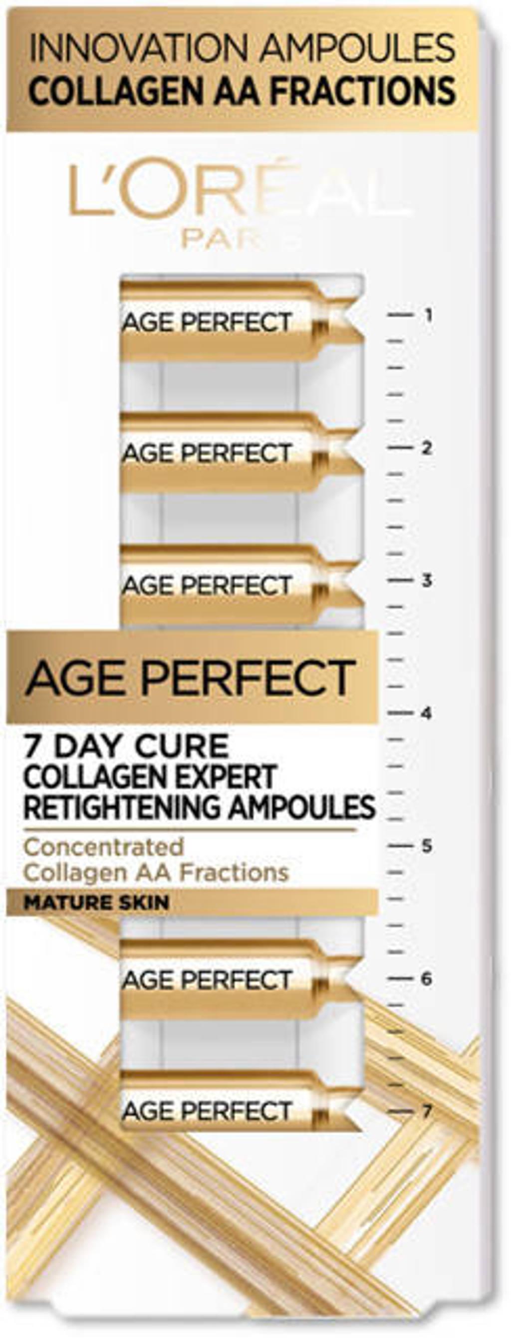 L'Oréal Paris Age Perfect verstevigende collageen ampullen - 7 daagse kuur