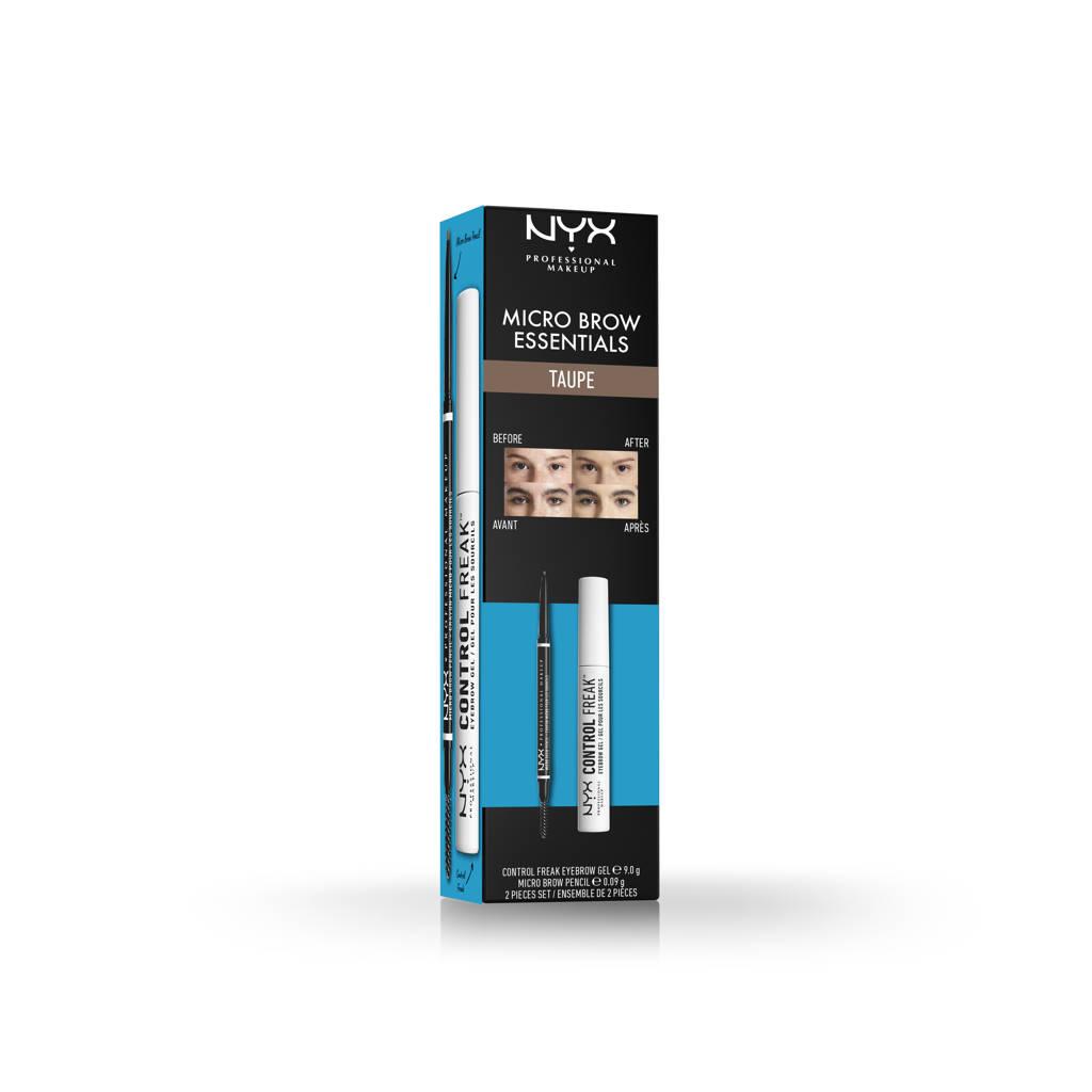 NYX Professional Makeup Micro Brow Essentials Set - Taupe