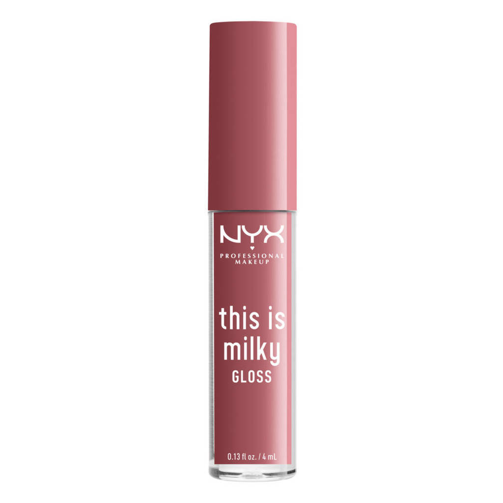 NYX Professional Makeup This is Milky Gloss - Cherry Skimmed - Lipgloss, Cherry Smoothie
