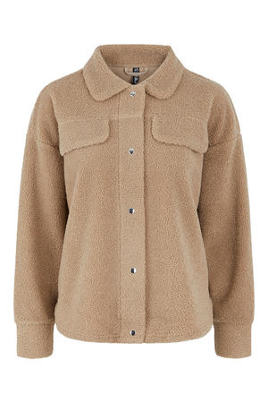 teddy jas PCCARMELLO  beige
