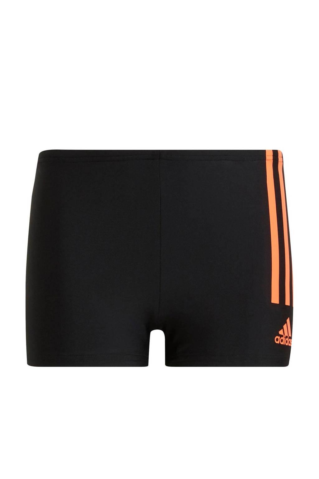 adidas Performance zwemboxer zwart/rood, Zwart/rood