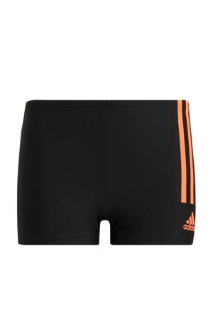 zwemboxer zwart/rood