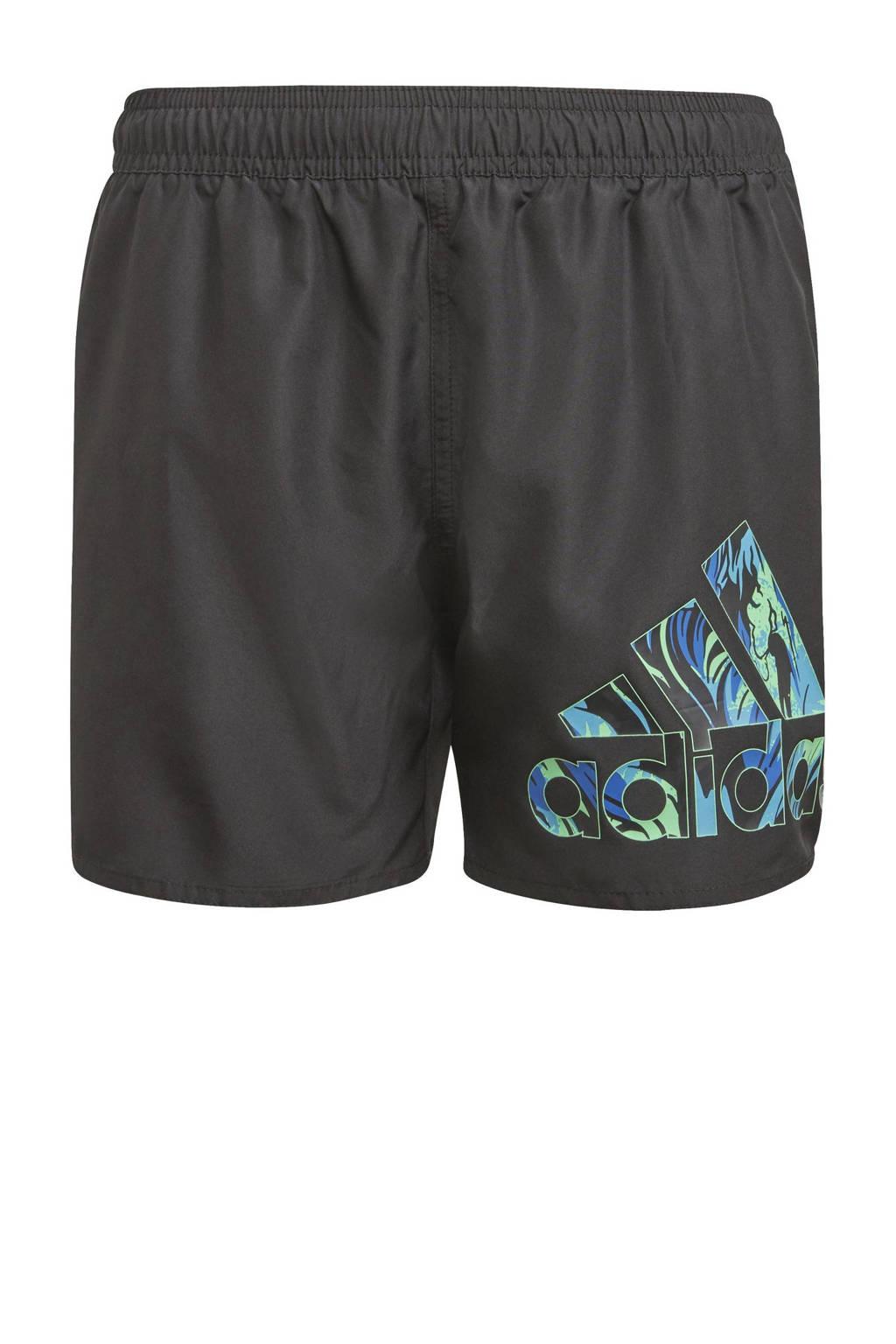 adidas Performance zwemshort zwart, Zwart