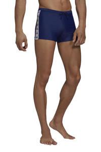 adidas Performance zwemboxer donkerblauw/wit, Donkerblauw/wit