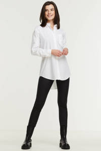 Imagine poplin blouse, Wit
