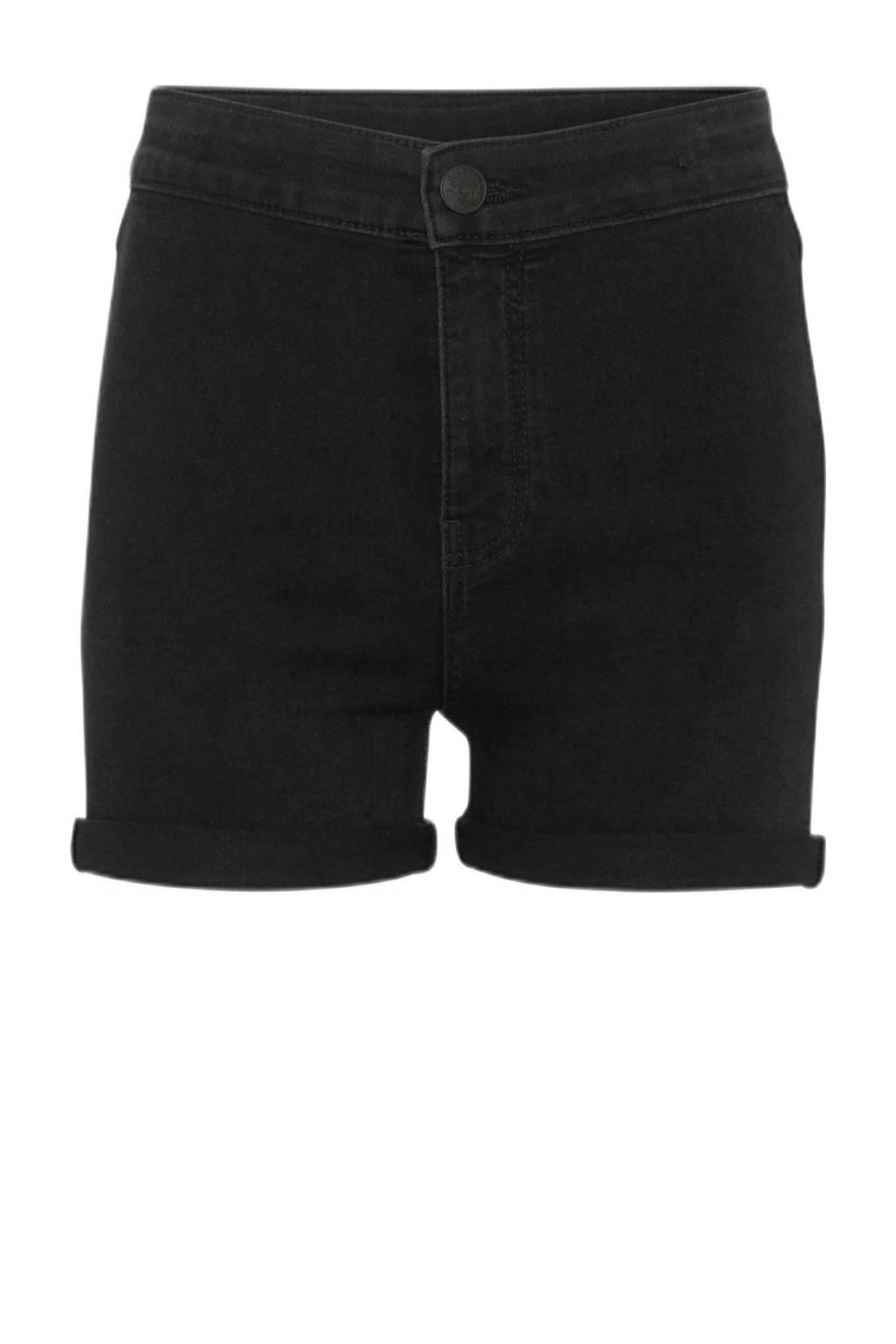 C&A The Denim jeans short zwart, Zwart