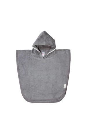 badponcho Dijon organic steel grey
