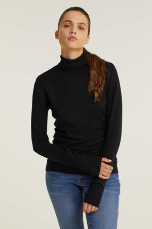 trui met col zwart
