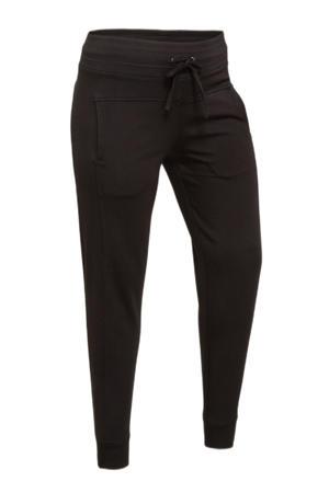 skinny broek Perla van travelstof zwart