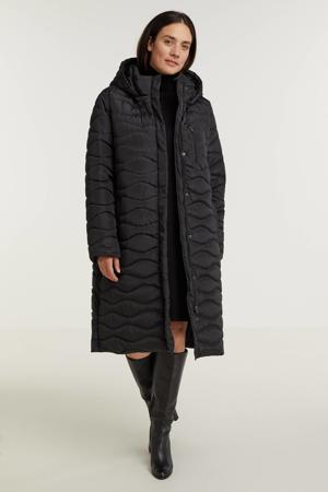gewatteerde jas Roxy zwart