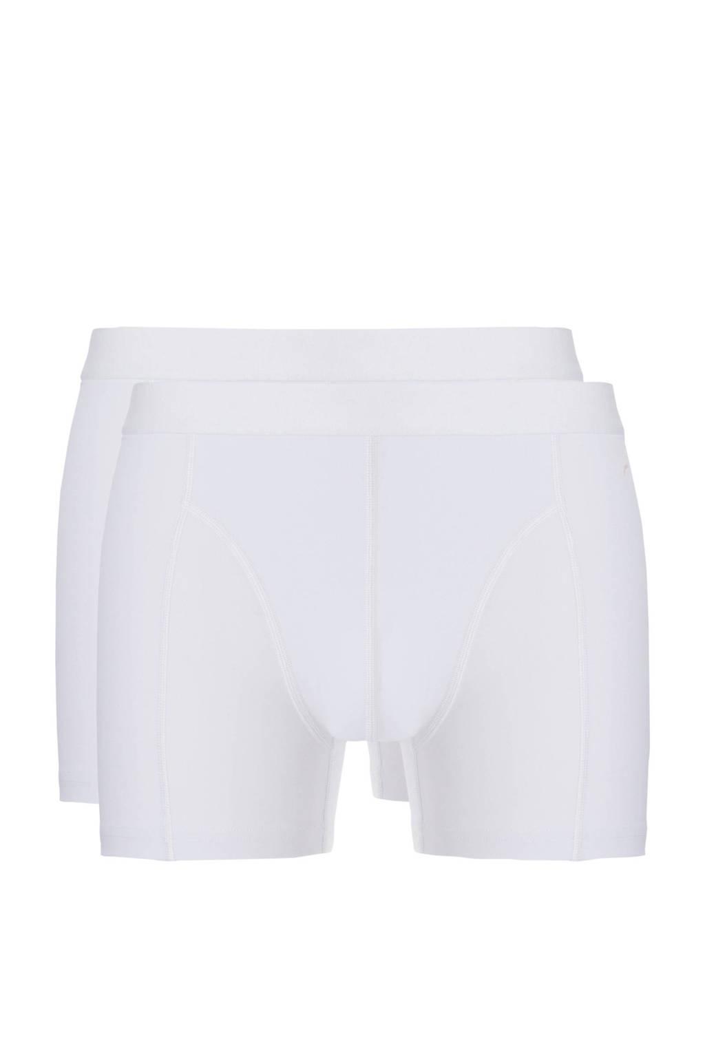 ten Cate Fine boxershort (set van 2), Wit