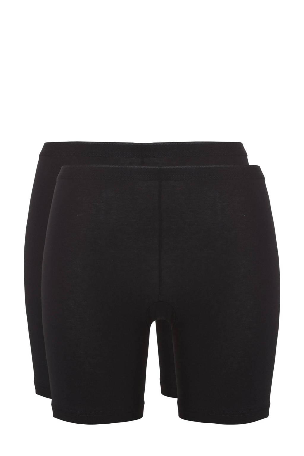 ten Cate Basic short (set van 2) zwart, Zwart
