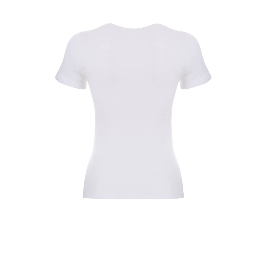 ten Cate Basic T-shirt wit, Wit