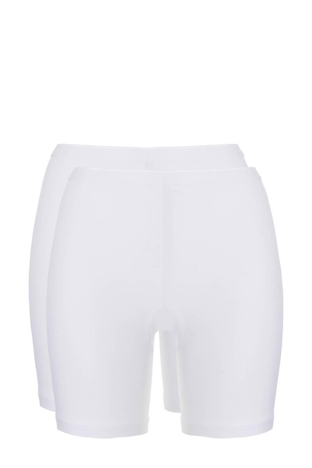 ten Cate Basic short (set van 2) wit, Wit