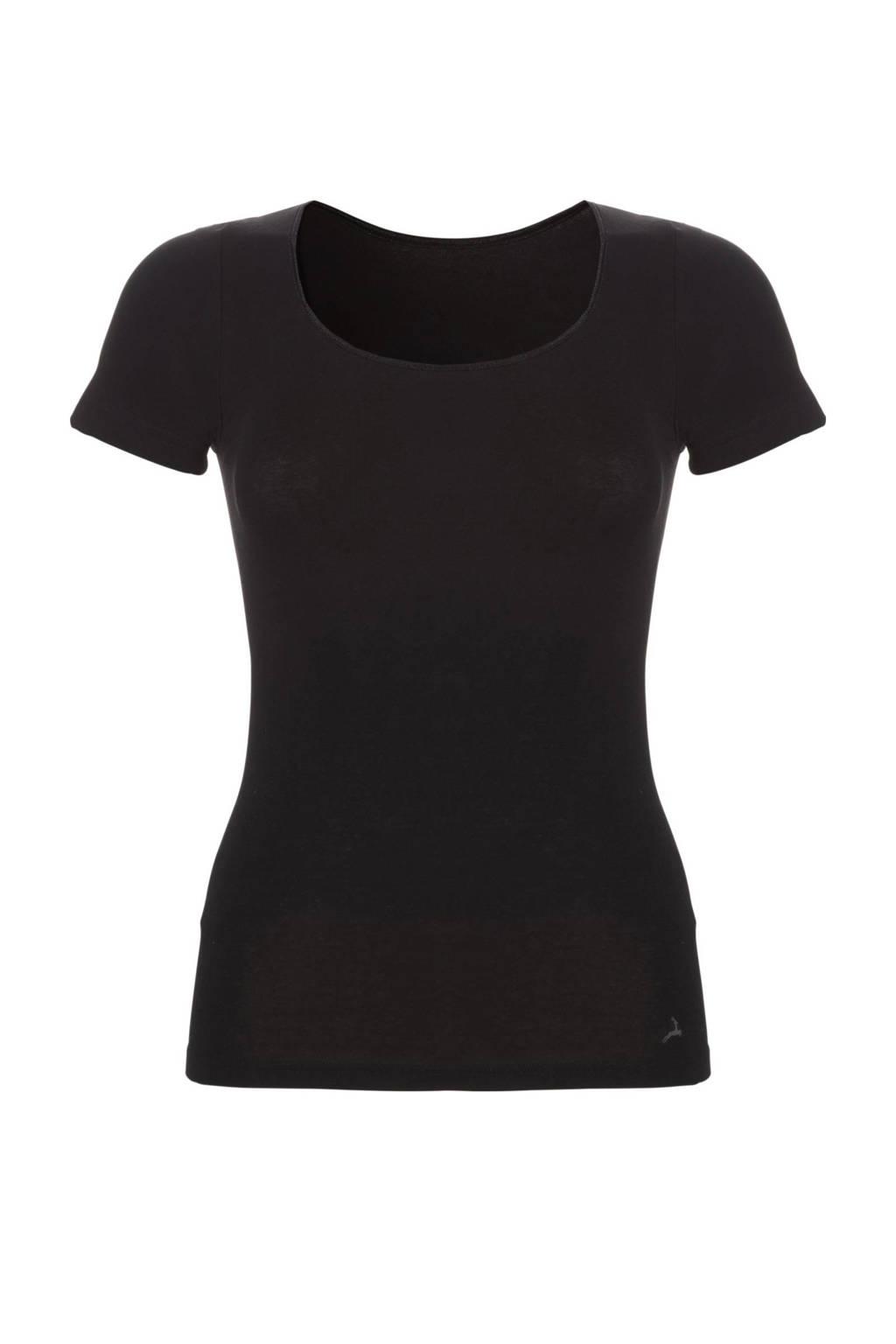 ten Cate Basic T-shirt zwart, Zwart