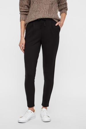 slim fit pantalon NMPOWER zwart