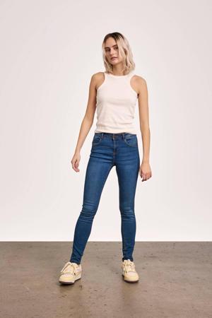 push-up skinny jeans NMJEN medium blue denim
