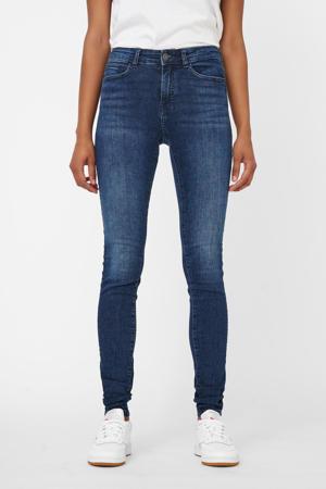 skinny jeans NMLUCY dark blue denim