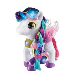 Styla Mijn Glamour Unicorn interactieve knuffel