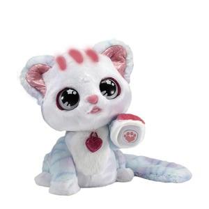 Ruby Mijn Glittertattoo Kitten interactieve knuffel