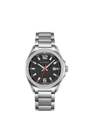 horloge Essentials No. 3 zilverkleurig/zwart