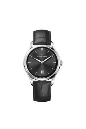 horloge Essentials No. 1 zwart/zilverkleurig