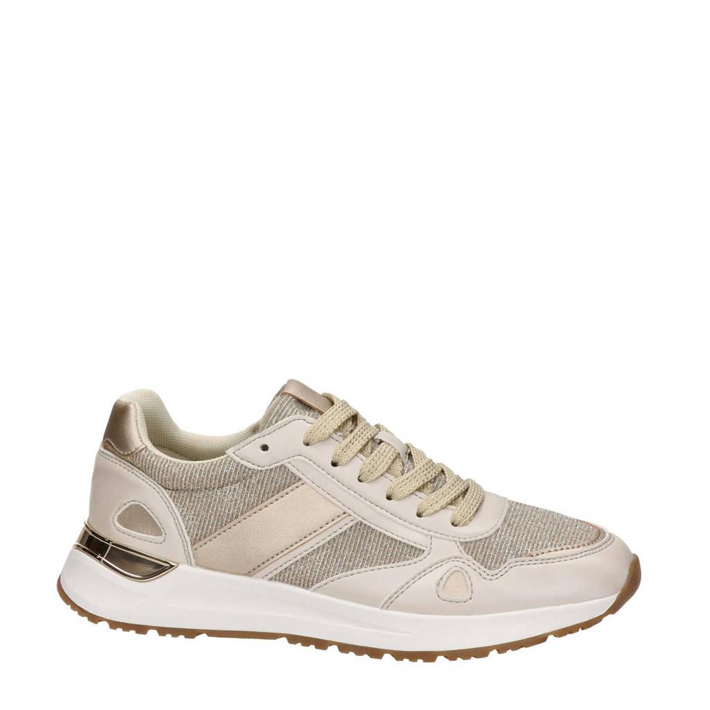 Dolcis   sneakers goud/beige, Goud/beige