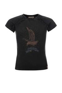 LOOXS 10sixteen T-shirt van biologisch katoen zwart, Zwart