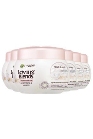 Loving Blends Haarmasker Milde Haver - 6x 300 ml multiverpakking