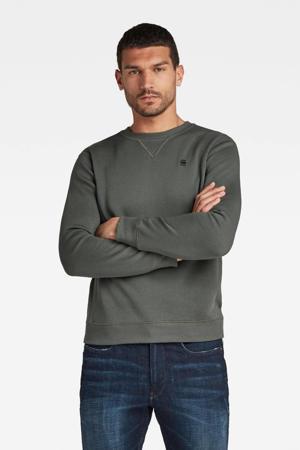sweater met biologisch katoen graphite