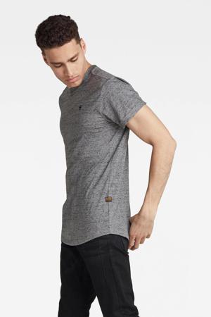 regular fit T-shirt van biologisch katoen 2645-charcoal htr