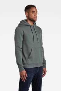 G-Star RAW hoodie Premium core grijs, Grijs