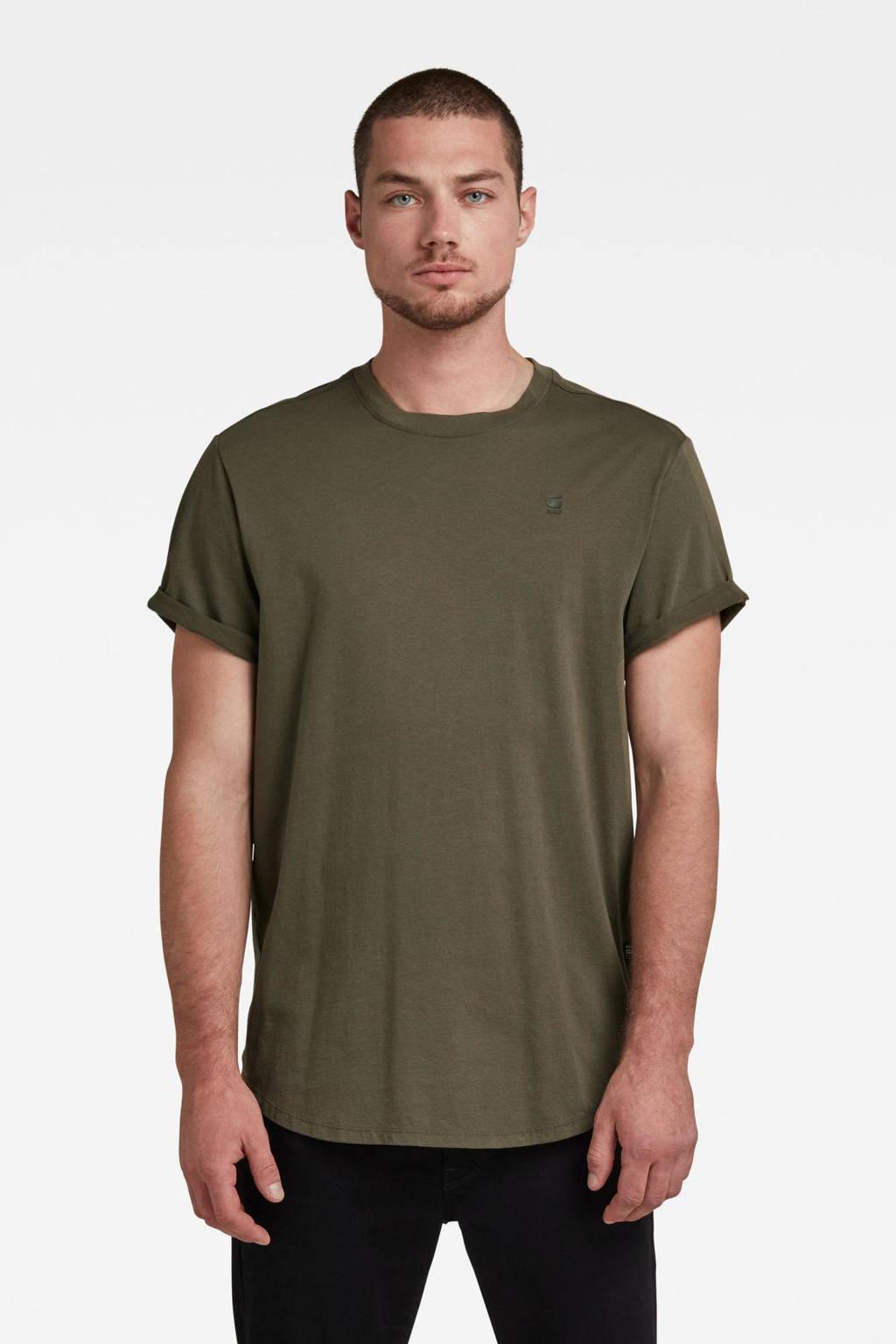 G-Star RAW regular fit T-shirt van biologisch katoen 723-combat