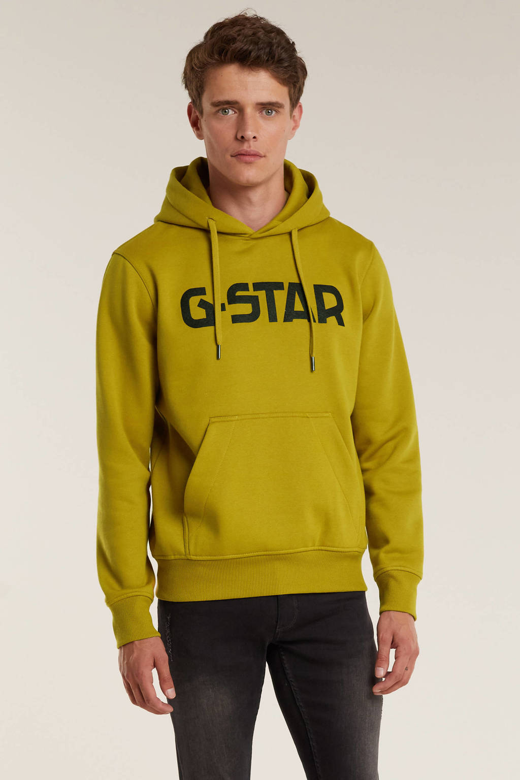 G-Star RAW sweater met logo toasted, Toasted