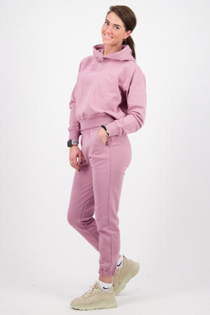 straight fit joggingbroek Sanny roze