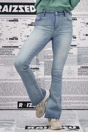 flared jeans SUNRISE mid blue stone