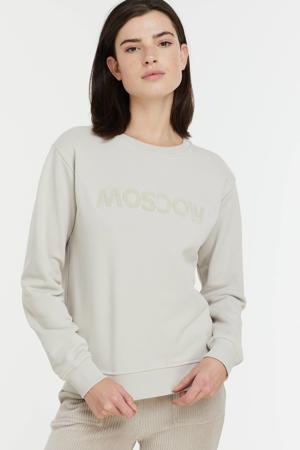 sweater Star van biologisch katoen ecru