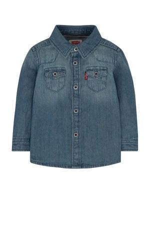 Levi's Kids denim overhemd Barstow western vintage stone