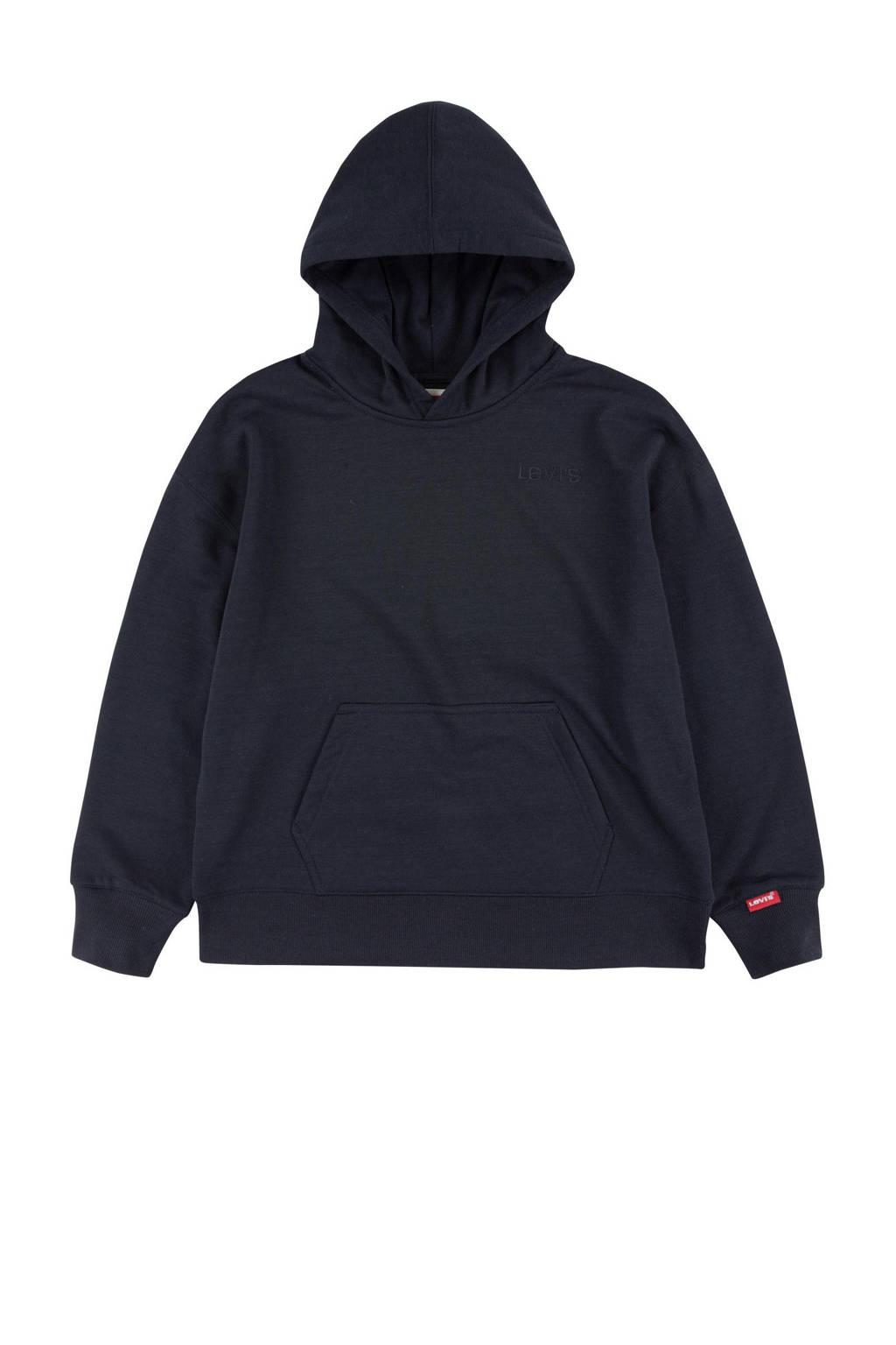 Levi's Kids hoodie Relaxed Core zwart, Zwart