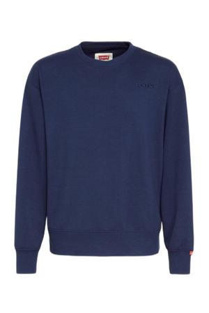 Levi's Kids sweater Graphic donkerblauw