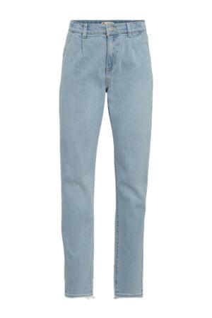 Levi's Kids Pleated high waist loose fit jeans blue