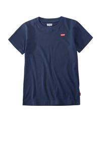 Levi's Kids basic T-shirt Batwing chest met logo donkerblauw, Donkerblauw