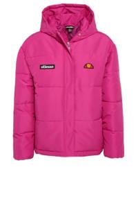 Ellesse gewatteerde jas Mikio met logo roze, Roze