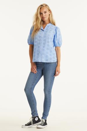 low waist skinny jeans OLMIRIS light denim