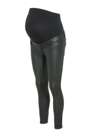 gecoate skinny fit zwangerschapsjeans OLMKENDELL zwart